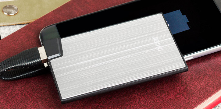 Ultra Slim Credit Card Power Bank 1500mah
