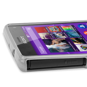 FlexiShield Sony Xperia Z3 Compact Gel Case - Frost White