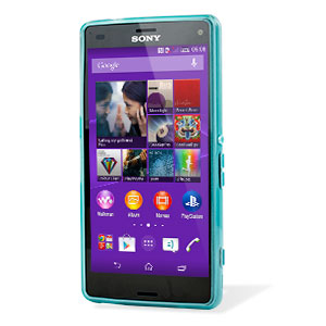 FlexiShield Sony Xperia Z3 Compact Gel Case - Blue