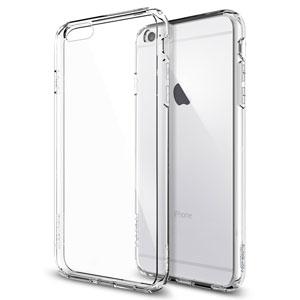 Spigen Ultra Hybrid iPhone 6 Plus Bumper Case - Crystal Clear