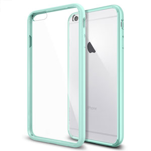 Spigen Ultra Hybrid iPhone 6 Plus Bumper Case - Mint