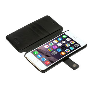 Zenus Lettering Diary iPhone 6 Plus Case - Black