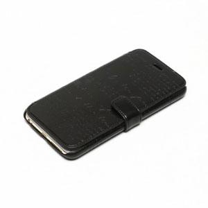 Zenus Lettering Diary iPhone 6 Plus Case - Black