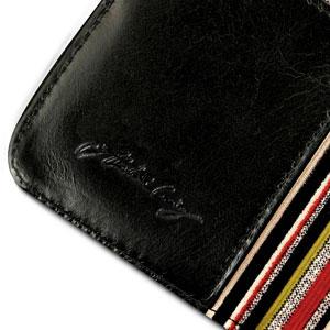 Tuff-Luv iPhone 6 Alston Craig Vintage Leather Wallet Case - Black