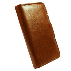 Tuff-Luv iPhone 6 Alston Craig Vintage Leather Wallet Case - Brown