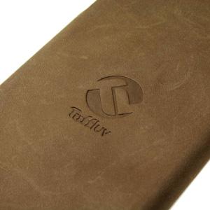 Tuff-Luv iPhone 6 Premium Leather Flip Case - Brown