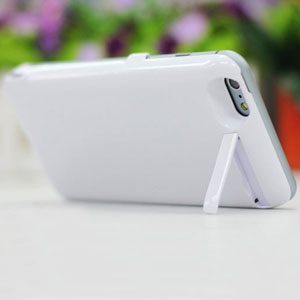 Power Jacket iPhone 6 Plus Case 8200mAh - White
