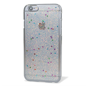Encase Glitter Sparkle iPhone 6 Bling Case - Silver ... 61b1cb6915b2