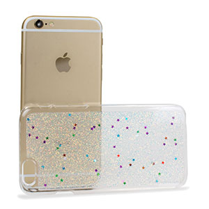 Encase Glitter Sparkle iPhone 6 Bling Case - Silver