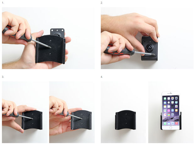 Brodit iPhone 6 Passive Holder with Tilt Swivel