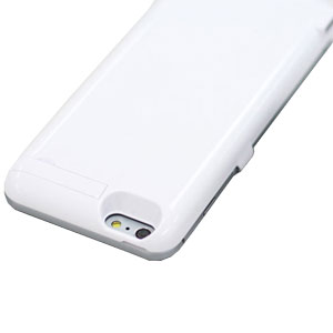 Power Jacket iPhone 6 Plus Case 4200mAh - White