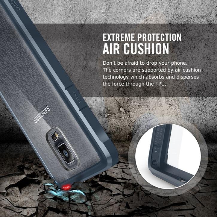 on sale 7bb38 b92d4 Spigen Ultra Hybrid Samsung Galaxy Note 4 Bumper Case - Crystal Clear
