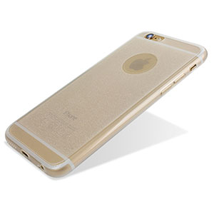 Encase FlexiShield Glitter iPhone 6S Plus / 6 Plus Gel Case - Clear