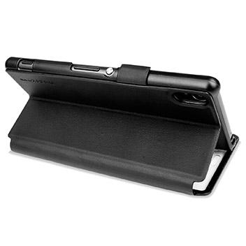 Roxfit Sony Xperia Z3 Book Case Touch - Nero Black