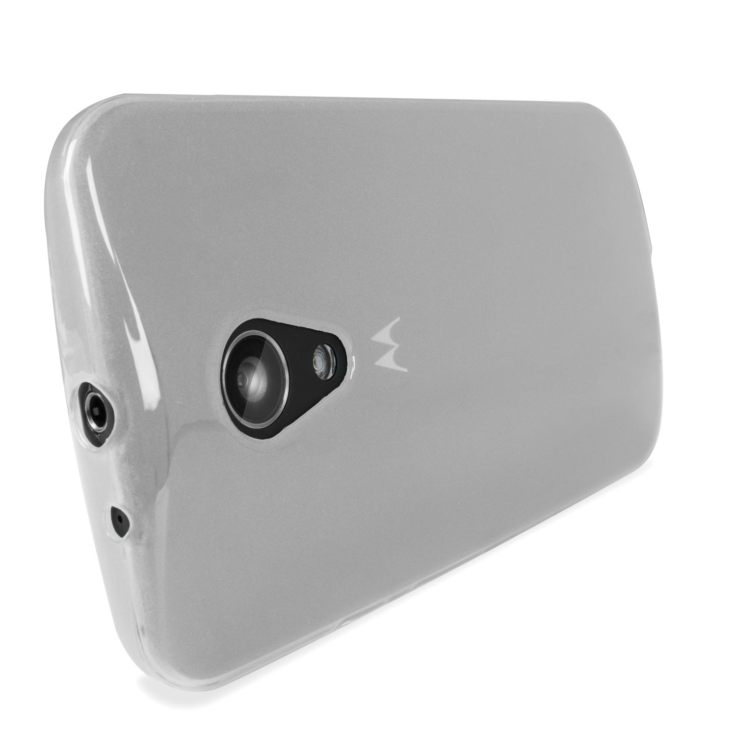 Flexishield Moto G 2nd Gen Case - Frost White