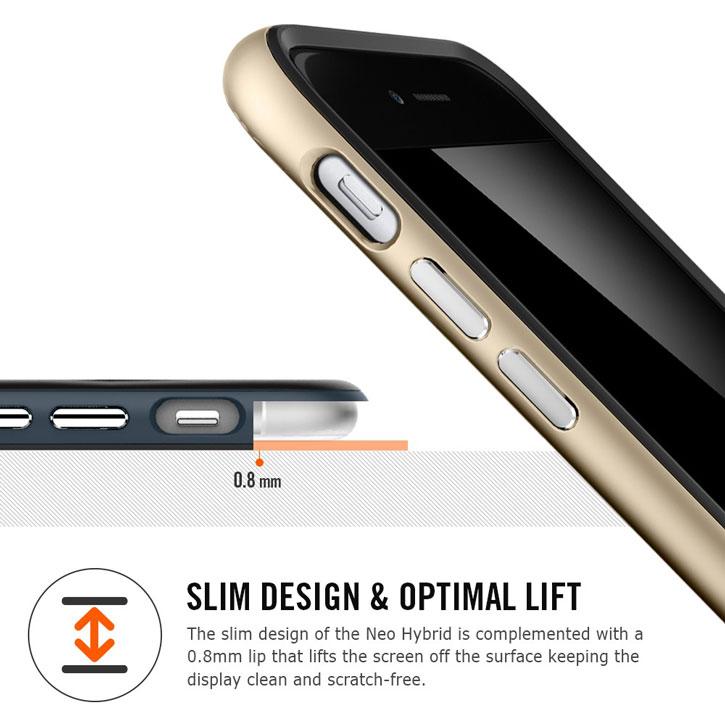 Spigen Neo Hybrid iPhone 6 Case - Gunmetal