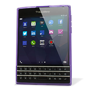 Encase FlexiShield BlackBerry Passport Case - Purple