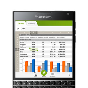 SIM Free Blackberry Passport 32GB - Black