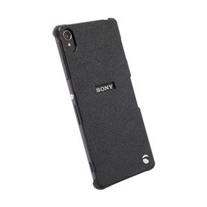 Krusell Malmo Texturecover Sony Xperia Z3 Case - Black