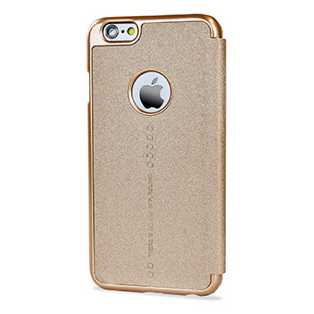 Nillkin Ultra-Thin iPhone 6S / 6 Sparkle Case - Champagne Gold