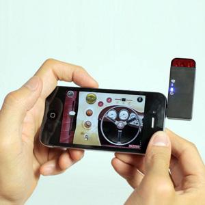 Caravana UTICO controlada por App para iOS y Android - Verde