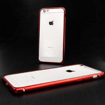 ROCK Arc Slim Guard iPhone 6 Aluminium Bumper Case - Red
