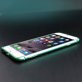 ROCK Arc Slim Guard iPhone 6 Aluminium Bumper Case - Blue