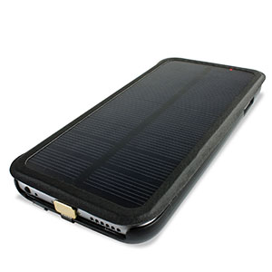 sale retailer abf50 e25ea enCharge Solar iPhone 6S / 6 Battery Flip Case 2,800mAh - Black