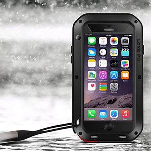 Coque iPhone 6 Plus Love Mei Ultra Protectrice - Noire