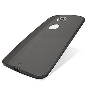 Encase FlexiShield Google Nexus 6 Case - Smoke Black
