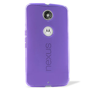 FlexiShield Google Nexus 6 Case - Purple