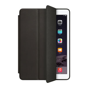 Apple Leather Smart Case for iPad Air 2 - Black