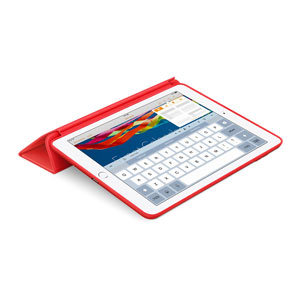 Apple iPad Air 2 Leather Smart Case - Red