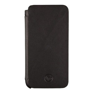 Redneck Business Line iPhone 5S / 5 Leather Book Case - Black