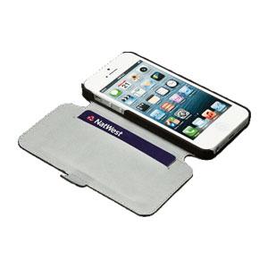 Redneck Seasonal iPhone 5S / 5 Leather Wallet Case - Grey