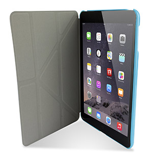 Encase Folding Stand iPad Mini 3 / 2 / 1 Case - Blue
