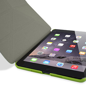 Encase Folding Stand iPad Mini 3 / 2 / 1 Case - Green