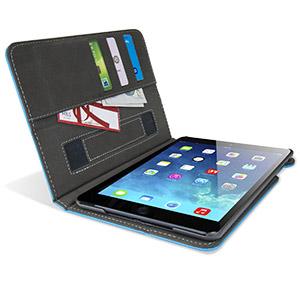 Encase Stand and Type iPad Mini 3 / 2 / 1 Case - Light Blue