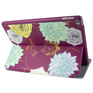 Victoria Floral iPad Air 2 Stand Case - Purple