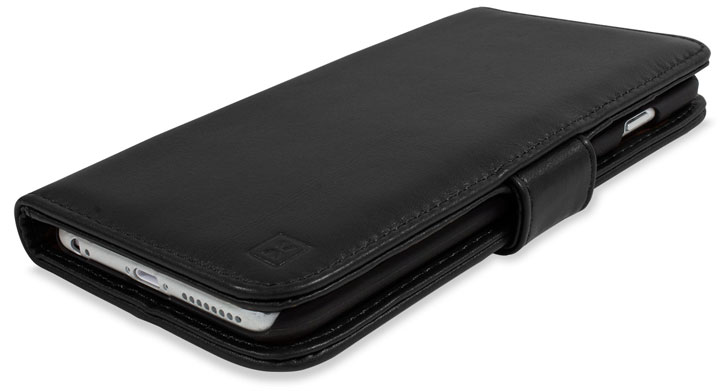 timeless design 8c08b 71aad Olixar Genuine Leather iPhone 6S Plus / 6 Plus Wallet Case - Black