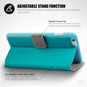 Encase Low Profile iPhone 6 Plus Wallet Case With Stand