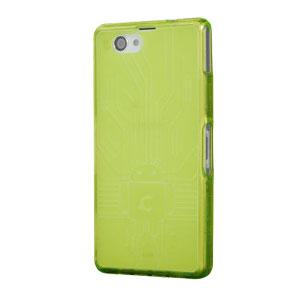 Cruzerlite Bugdroid Circuit Sony Xperia Z3 Compact Case - Green