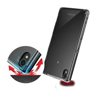 Rearth Ringke Fusion Sony Xperia Z3 Bumper Case - Clear