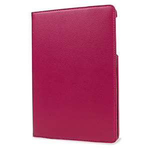 Encase Leather-Style Rotating Google Nexus 9 Case - Pink