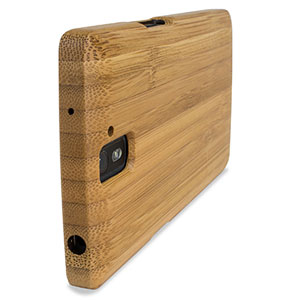 huge discount 304f4 6b559 Encase Deluxe OnePlus One Bamboo Hard Skal
