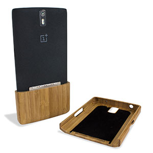 coque oneplus one encase deluxe bamboo. Black Bedroom Furniture Sets. Home Design Ideas