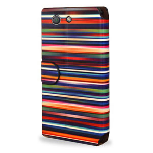 Create and Case Samsung Galaxy Note 4 Stand Case - Blurry Lines