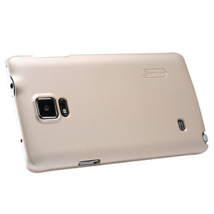 Nillkin Super Frosted Shield Samsung Galaxy Note 4 Case - Gold