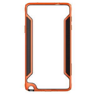 Nillkin Armor Border Samsung Galaxy Note 4 Bumper Case - Orange