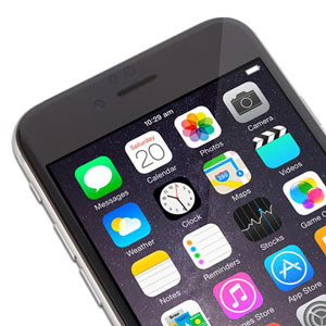 Moshi iVisor iPhone 6 Plus Glass Screen Protector - Black